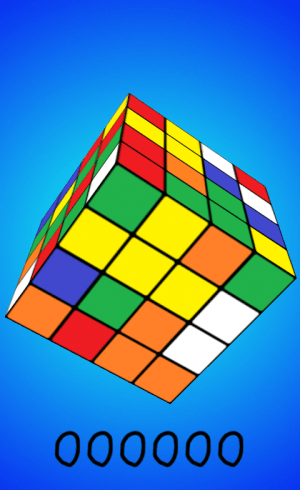 Android Cube Game Screen 1