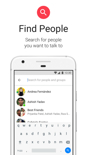 Android Messenger Lite Screen 5