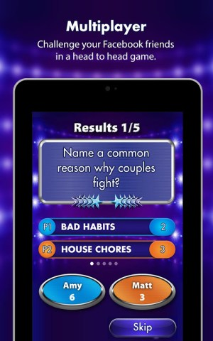 Android Family Fortunes Screen 9