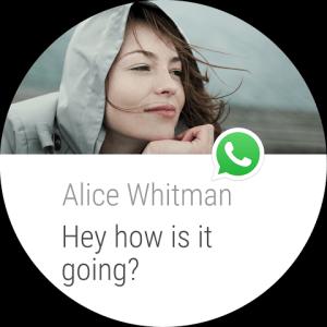 Android WhatsApp Messenger Screen 1