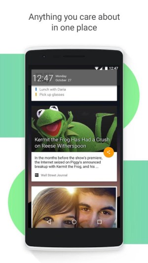 Android EverythingMe Launcher Screen 4
