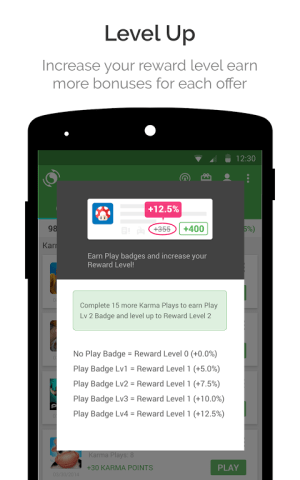 Android appKarma Rewards & Gift Cards Screen 6
