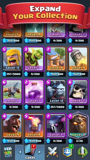 Android Clash Royale Screen 2
