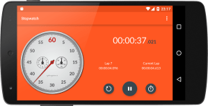 Android Chronometer Screen 7