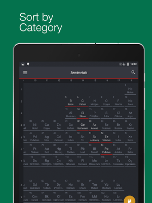 Android Periodic Table 2017 Screen 12