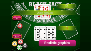 Android BlackJack Vegas 21 Screen 3
