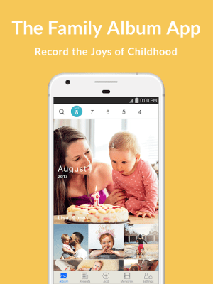 Android Family Album Mitene: Private Photo & Video Sharing Screen 5