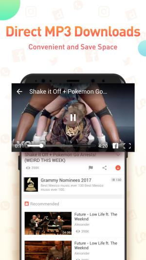 Android Youtube Video Downloader - SnapTube Pro Screen 3