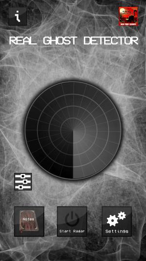 Android Real Ghost Detector - Radar Screen 1