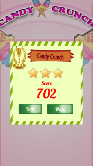Android CandyCrunch Free Screen 7
