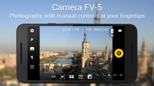 Android Camera FV-5 Lite Screen 16