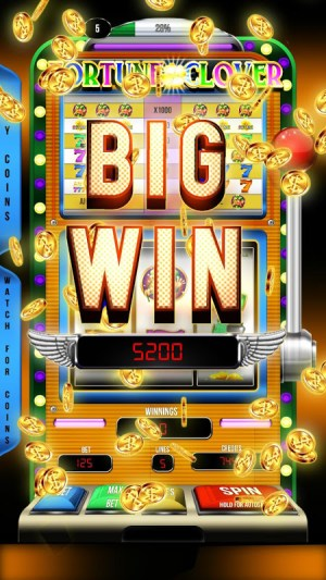 Android Casino Slots Fortune Clover Screen 1