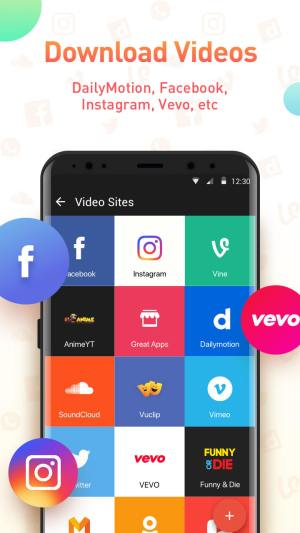 Android Youtube Video Downloader - SnapTube Pro Screen 1