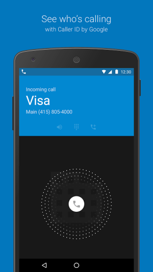 Android Google Dialer Screen 1