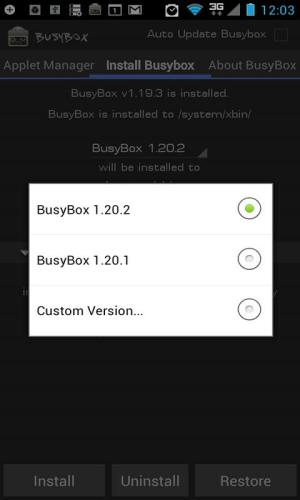 Android BusyBox Pro Screen 5