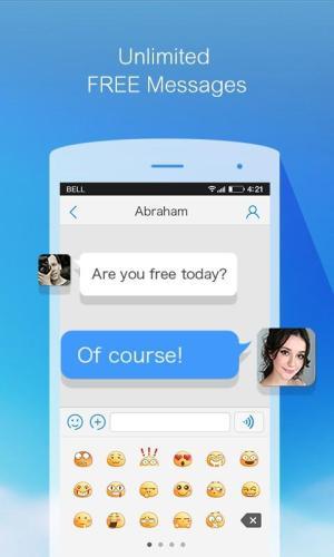 Android Bigo:Free Phone Call&Messenger Screen 1
