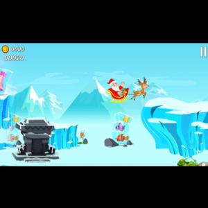 Android Flying Santa Claus Screen 2