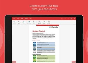 Android OfficeSuite : Free Office + PDF Editor Screen 10