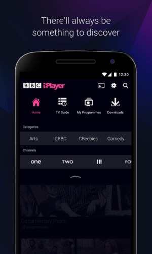 Android BBC iPlayer Screen 2