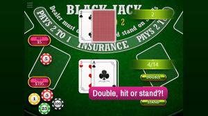 Android BlackJack Vegas 21 Screen 1