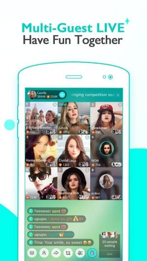 Android BIGO LIVE - Live Stream Screen 2
