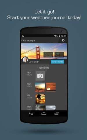 Android MoWeather Screen 3