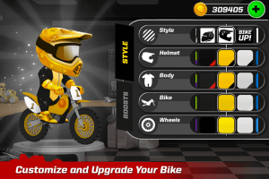 Android Bike Up! Screen 3