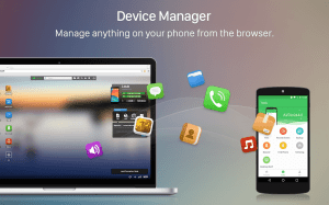 Android AirDroid: Remote access & File Screen 5