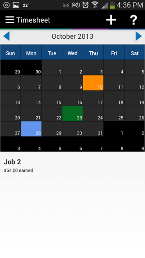 Android Express Plus Job Seekers Screen 5