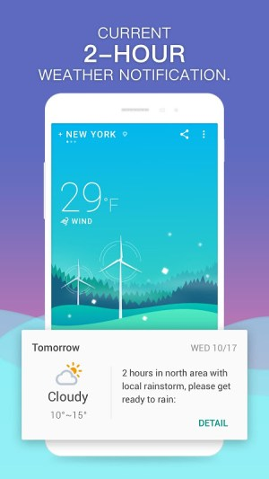 Android 360 Weather - Local Weather Forecast  & Radar app Screen 1