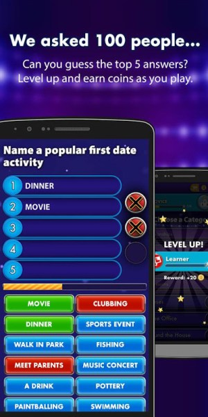 Android Family Fortunes Screen 1
