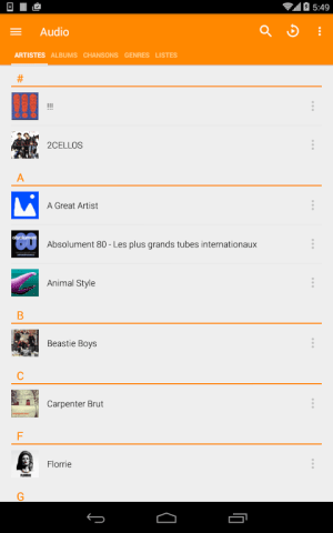 Android VLC for Android Screen 6