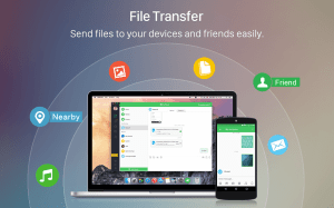 Android AirDroid: Remote access & File Screen 1