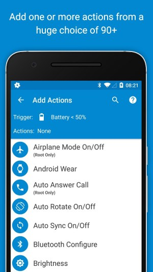 Android MacroDroid - Device Automation Screen 2