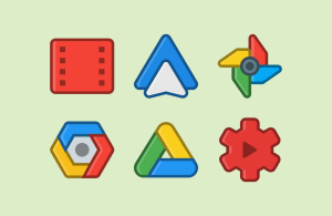 Android ANDROMEDA - Icon Pack Screen 4