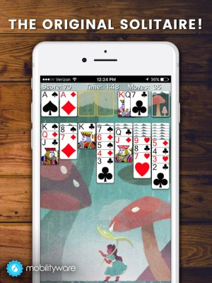 Android Solitaire Screen 4