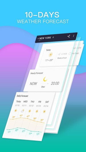 Android 360 Weather - Local Weather Forecast  & Radar app Screen 2