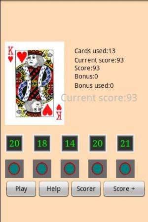 Android Lucky Chance Game Screen 1