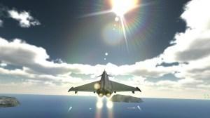 Android F18 Airplane Pilot Simulator Screen 6