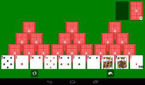 Android Solitaire Screen 19