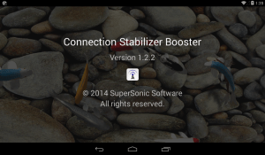 Android Connection Stabilizer Booster Screen 11