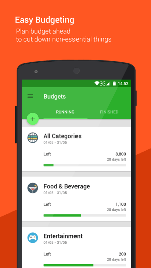 Android Money Lover - Money Manager Screen 5