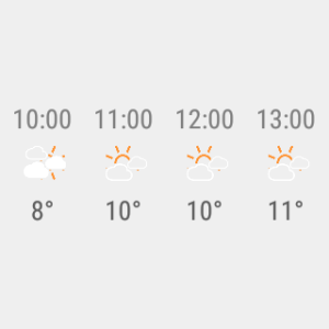 Android Transparent clock weather Pro Screen 20