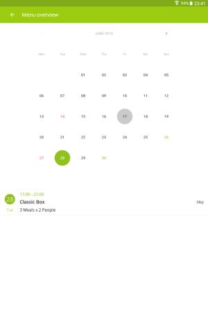 Android HelloFresh - More Than Food Screen 11