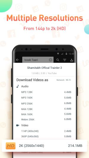 Android Youtube Video Downloader - SnapTube Pro Screen 2