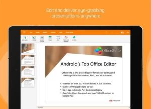 Android OfficeSuite : Free Office + PDF Editor Screen 11