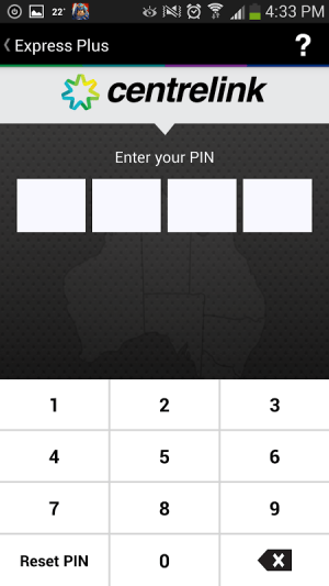 Android Express Plus Job Seekers Screen 1