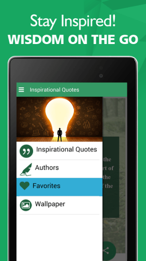 Android Best Inspirational Quotes Screen 1