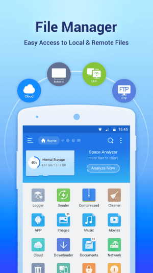 Android ES File Explorer/Manager PRO Screen 16