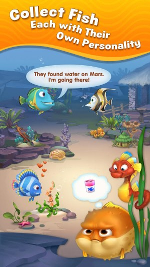 Android Fishdom Screen 3